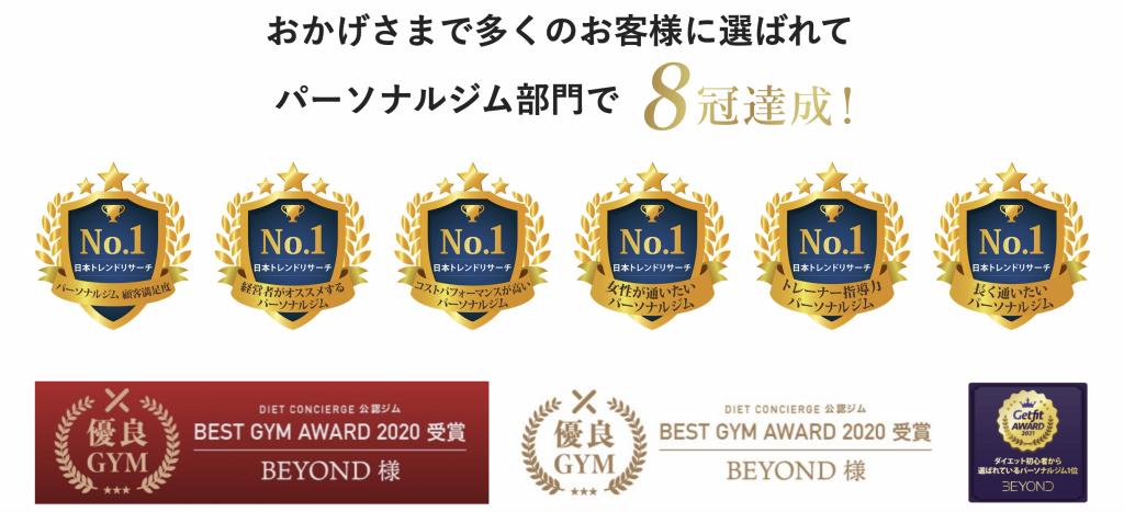 BEYOND GYM_Home page
